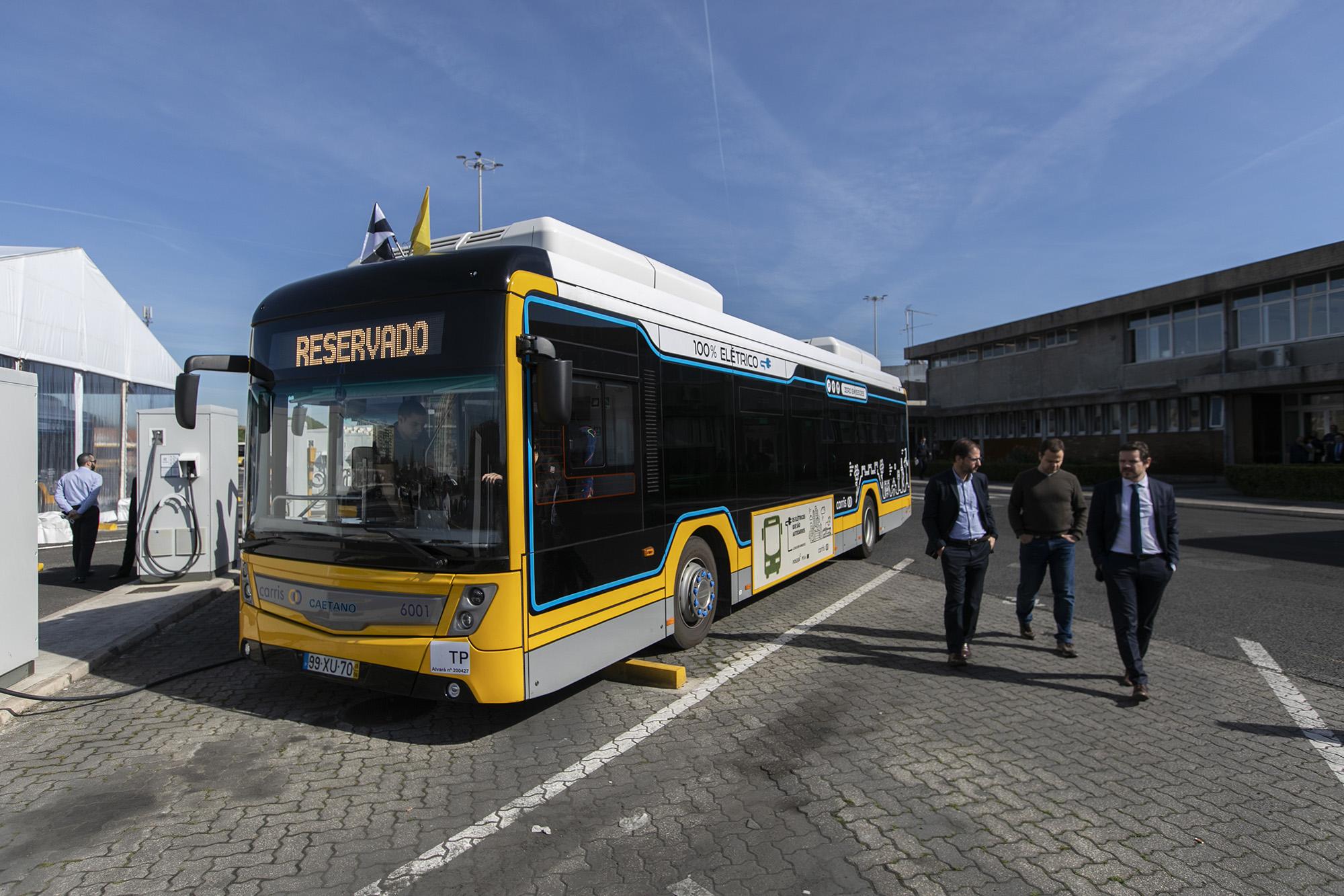 Lançamento da primeira carreira da CARRIS com autocarros elétricos - 11MAR20
