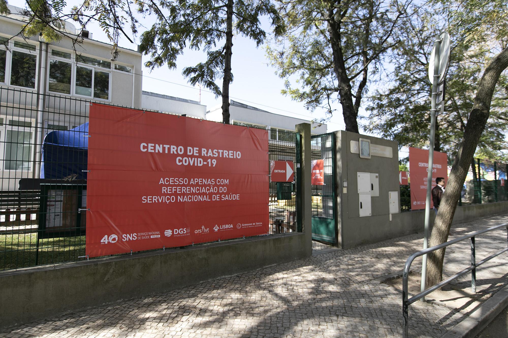 Centro de Rastreio do COVID-19 no Lumiar - 23MAR20