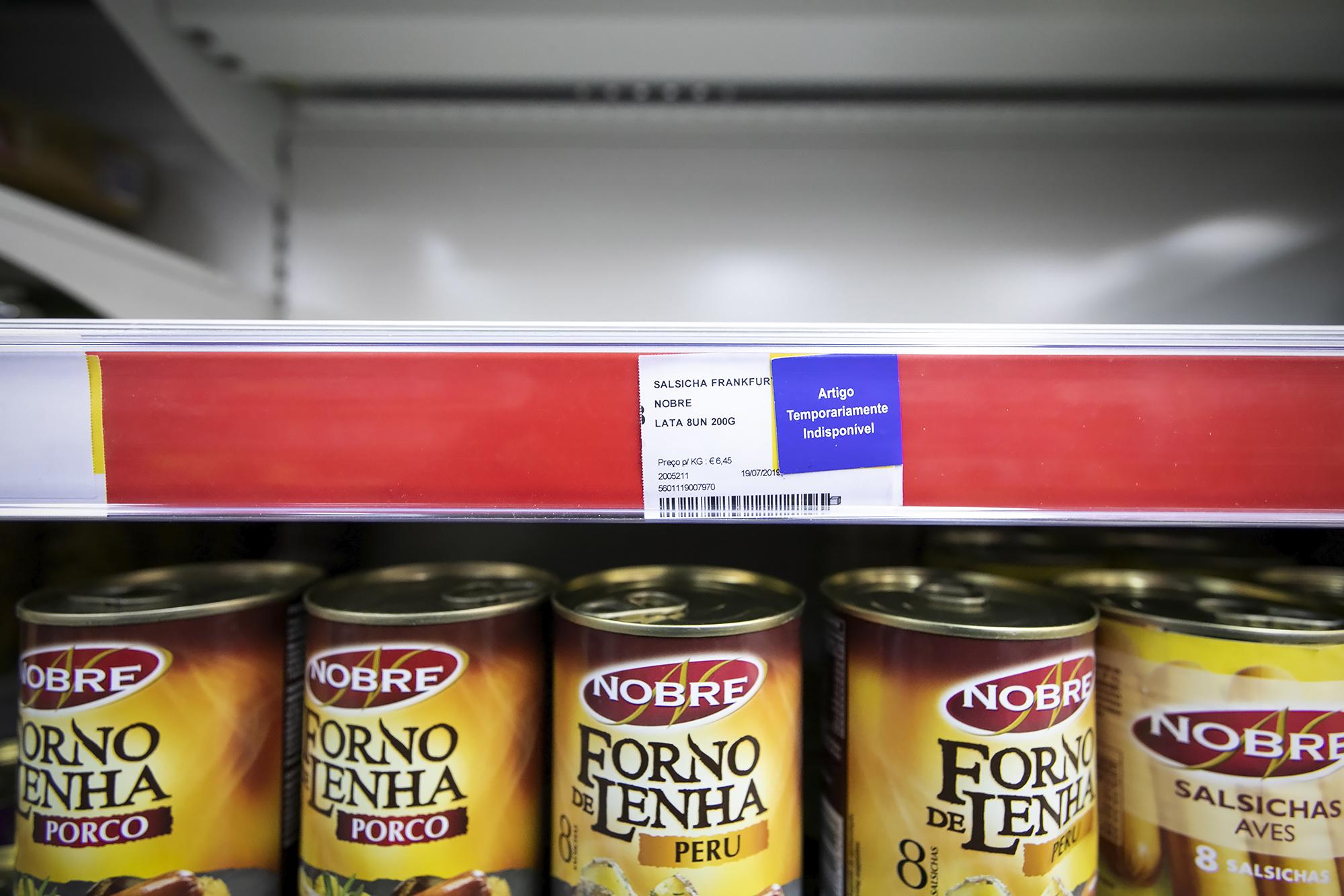 Reportagem nos supermercados a propósito do Covid-19 - 12MAR20