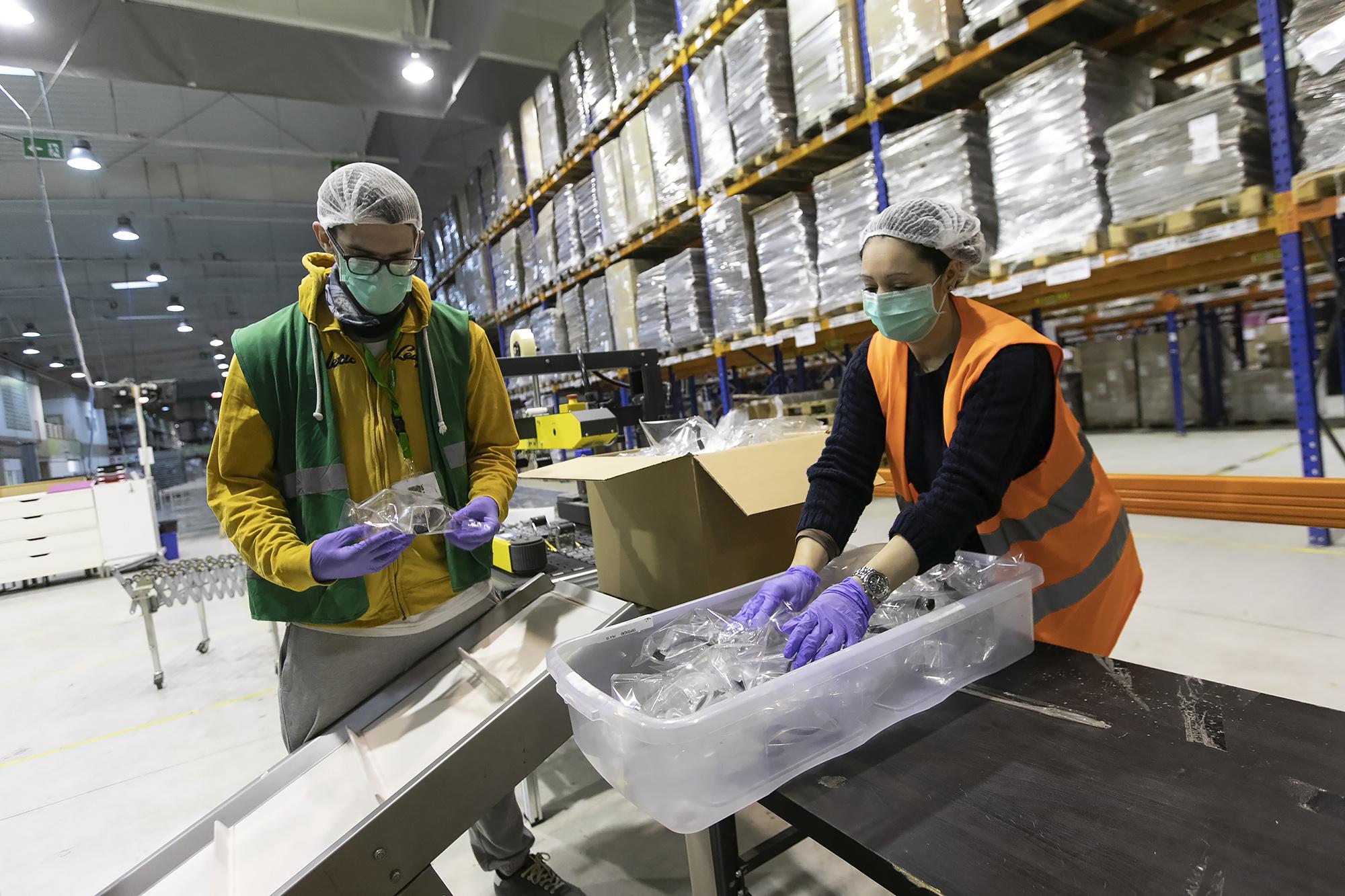 Science4You produz óculos de proteção durante a pandemia de Covid-19 - 06ABR20