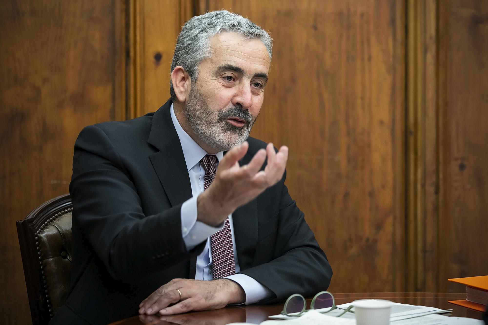 Afonso Oliveira, deputado do PSD, em entrevista ao ECO - 29JUN20
