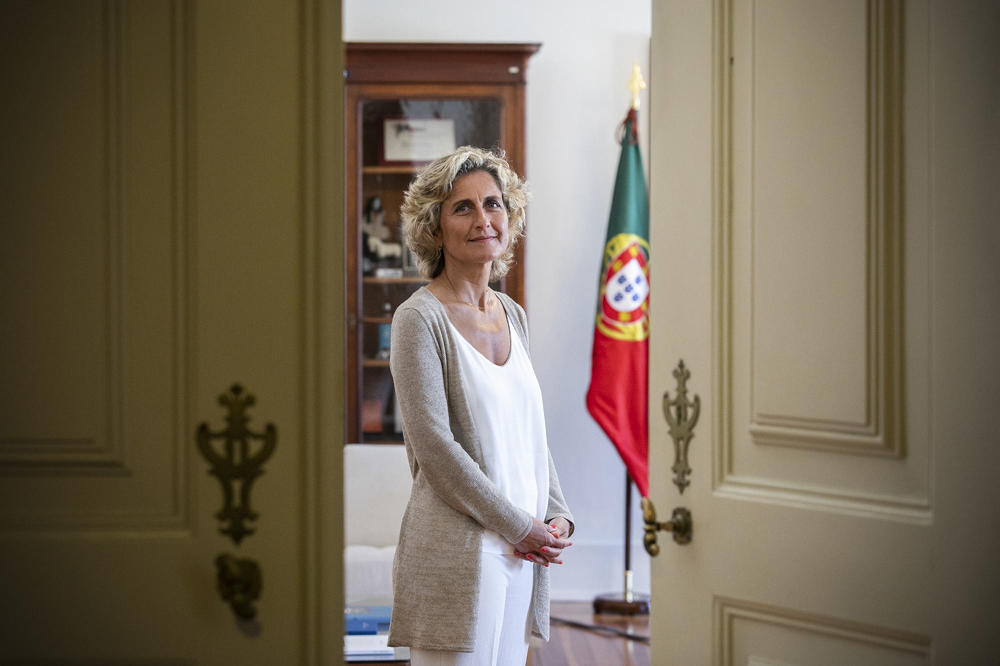 Ana Abrunhosa, Ministra da Coesão Territorial, em entrevista ao ECO - 06JUL20