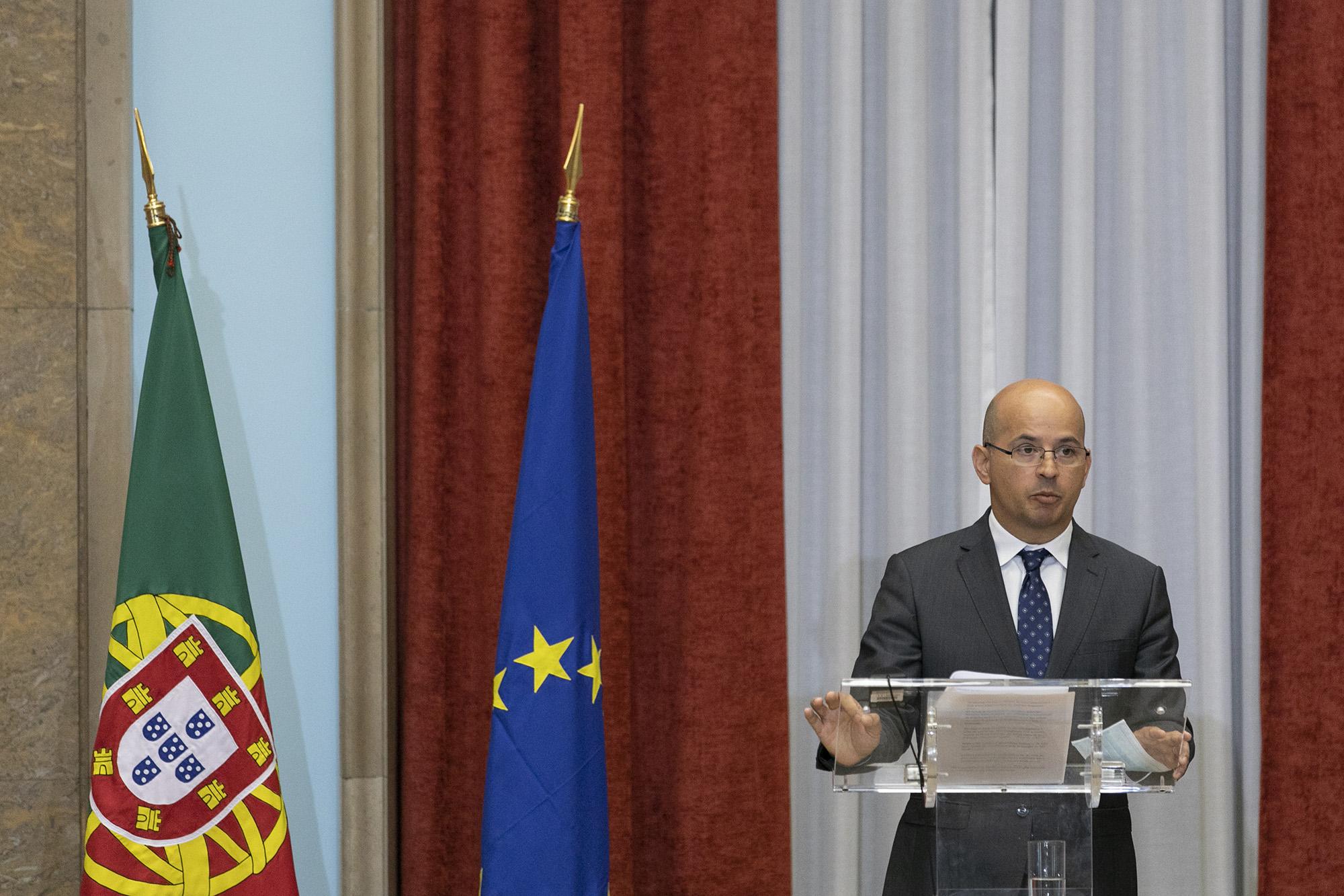 Tomada de posse do novo Governador do Banco de Portugal, Mário Centeno - 20JUL20