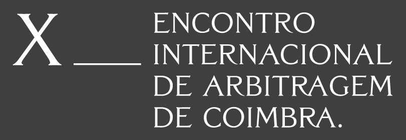 X Encontro Internacional de Arbitragem de Coimbra