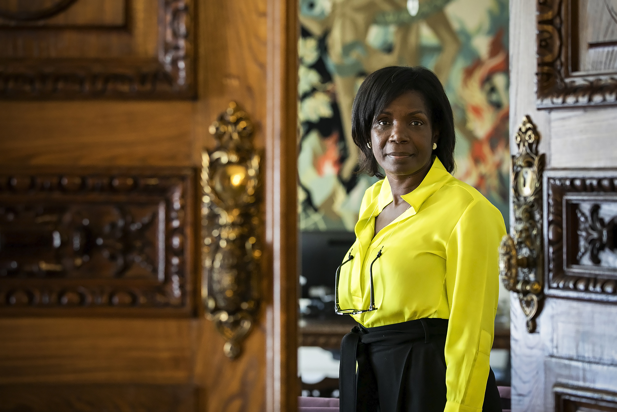 A Ministra da Justiça, Francisca Van Dunem, em entrevista ao ECO/Advocatus - 08SET20