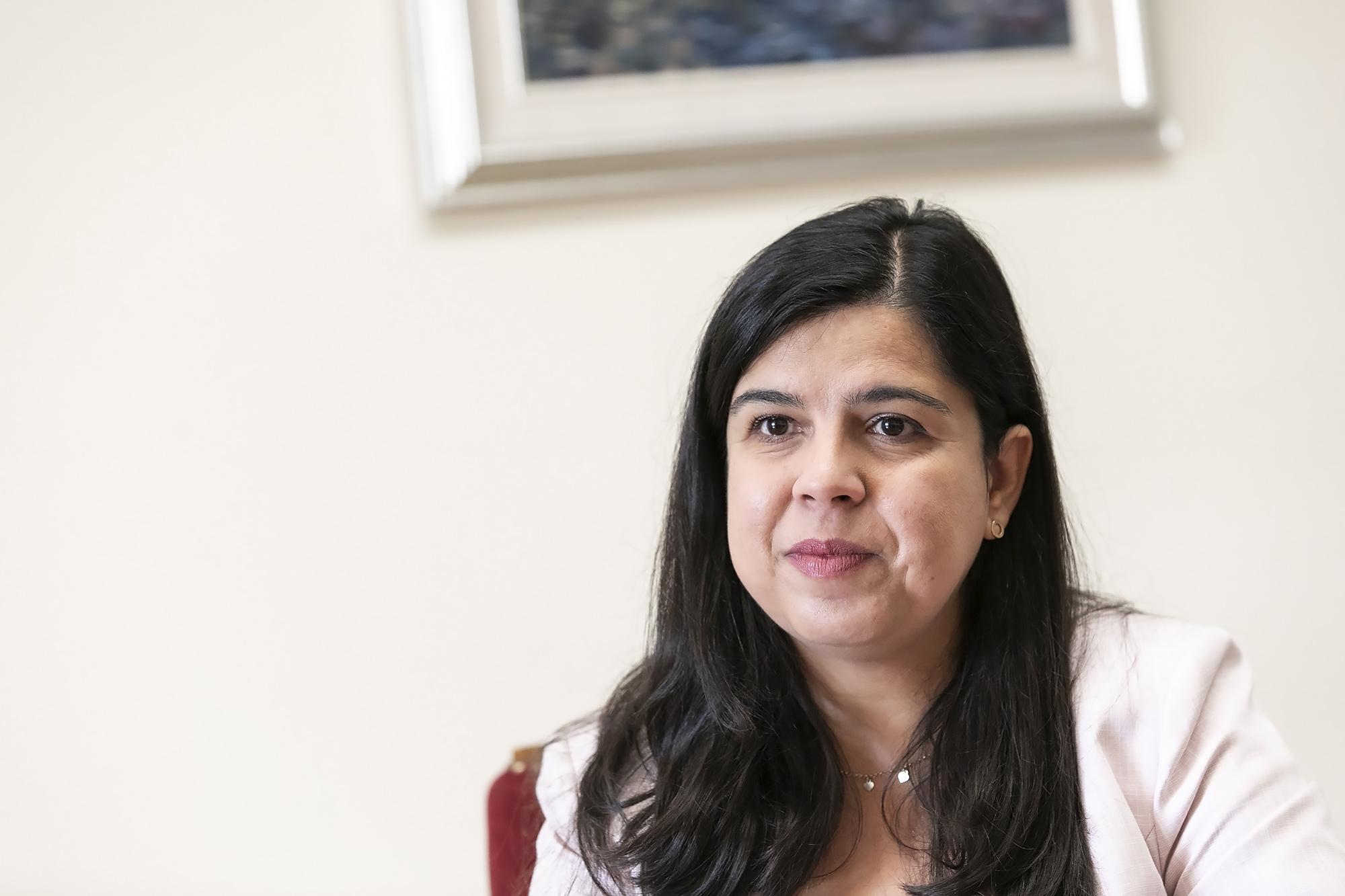 Inês Sousa Real, líder parlamentar do PAN, em entrevista ao ECO - 28SET20