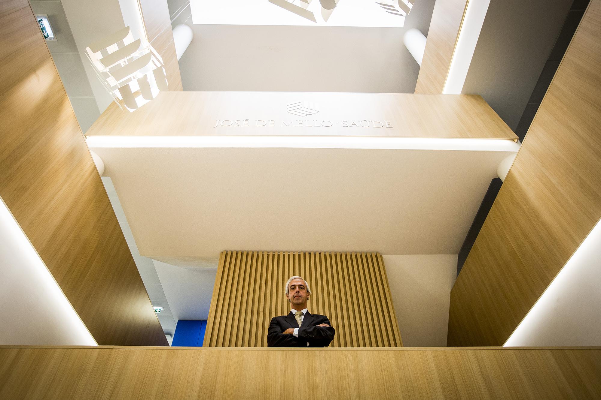 José Luís de Carvalho, Diretor de Recursos Humanos da José de Mello Saúde, em entre vista ao ECO/Pessoas - 08SET20