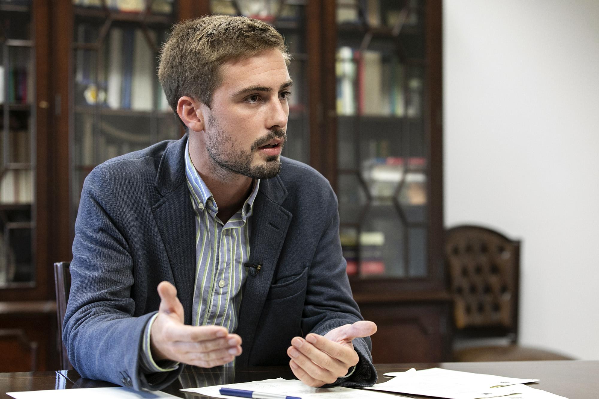 Duarte Alves, deputado do PCP, em entrevista ao ECO - 01OUT20