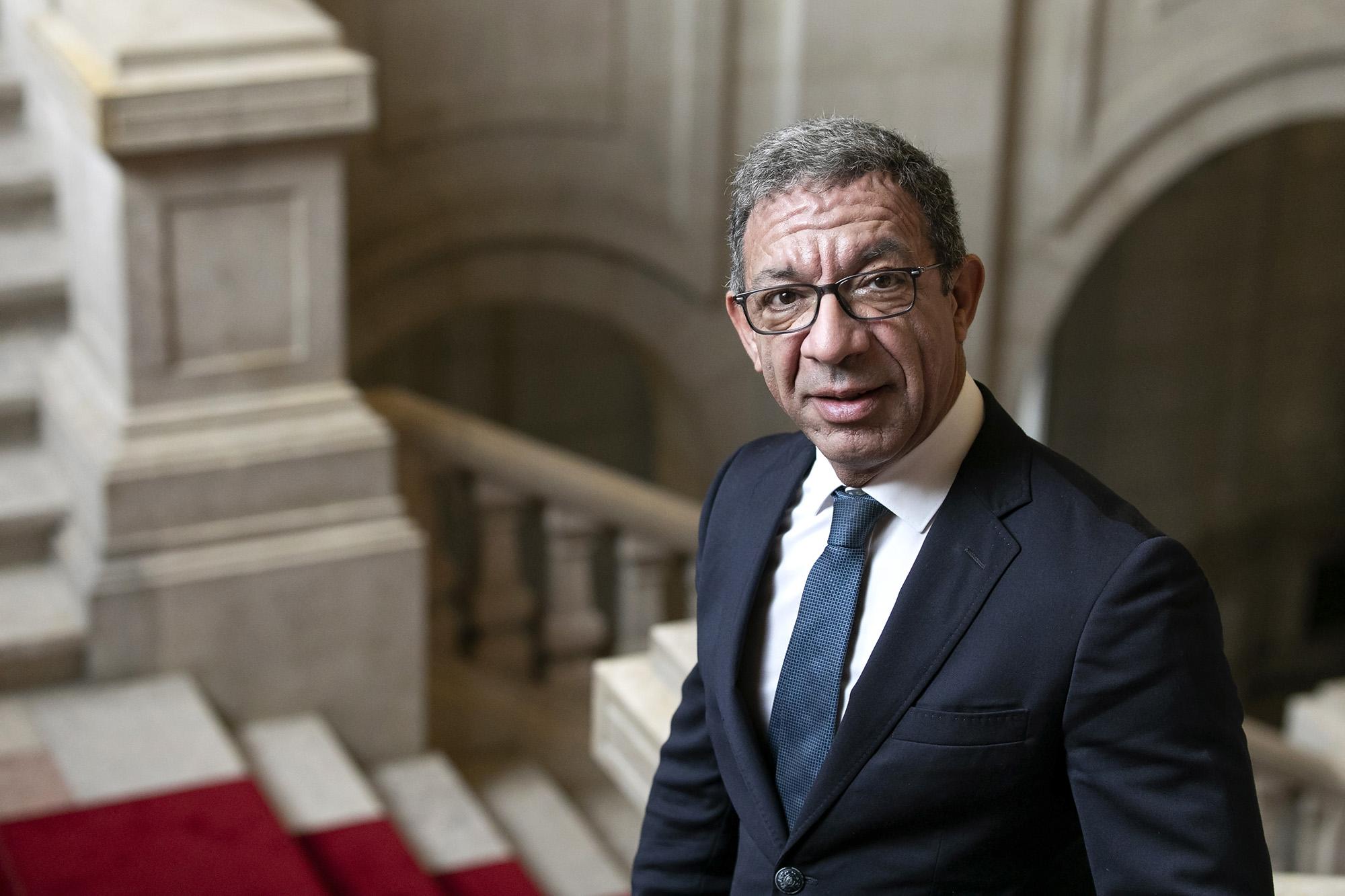 Duarte Pacheco, deputado do PSD, em entrevista ao ECO - 09OUT20