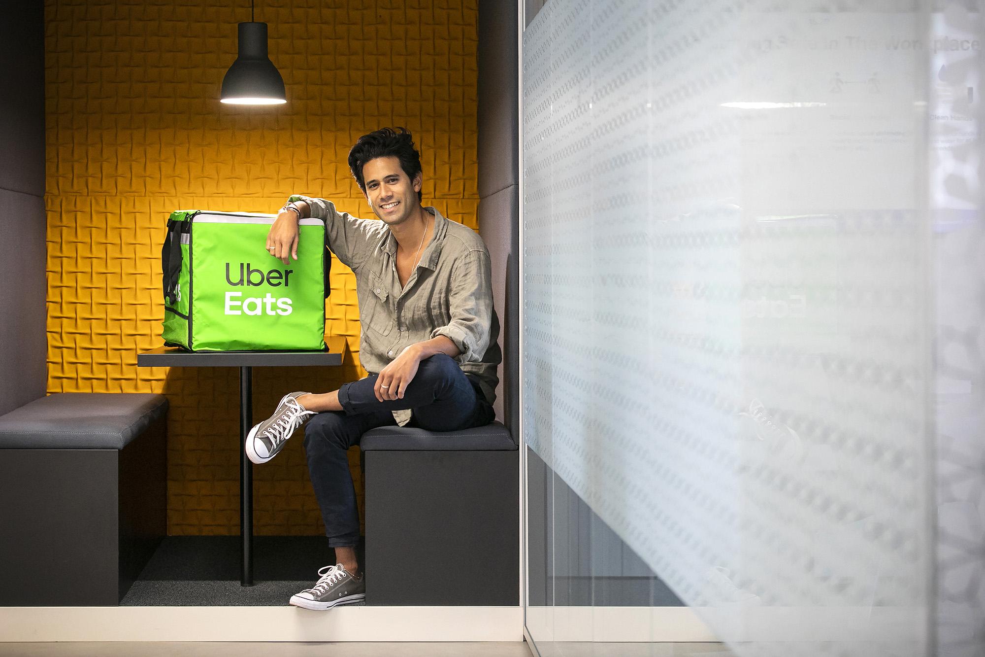Diogo Conceição, novo responsável da Uber Eats Portugal, em entrevista ao ECO - 25NOV20