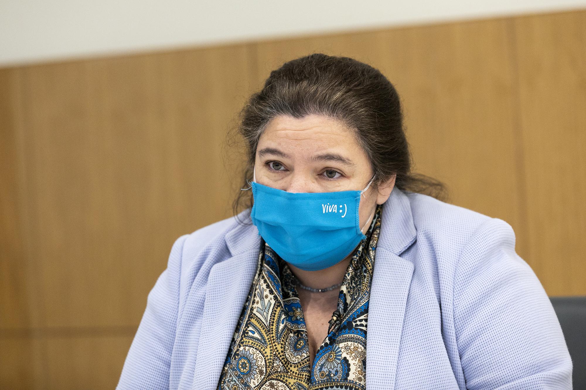 Alexandra Leitão, Ministra da Modernização do Estado e da Administração Pública, em entrevista ao ECO - 18JAN21