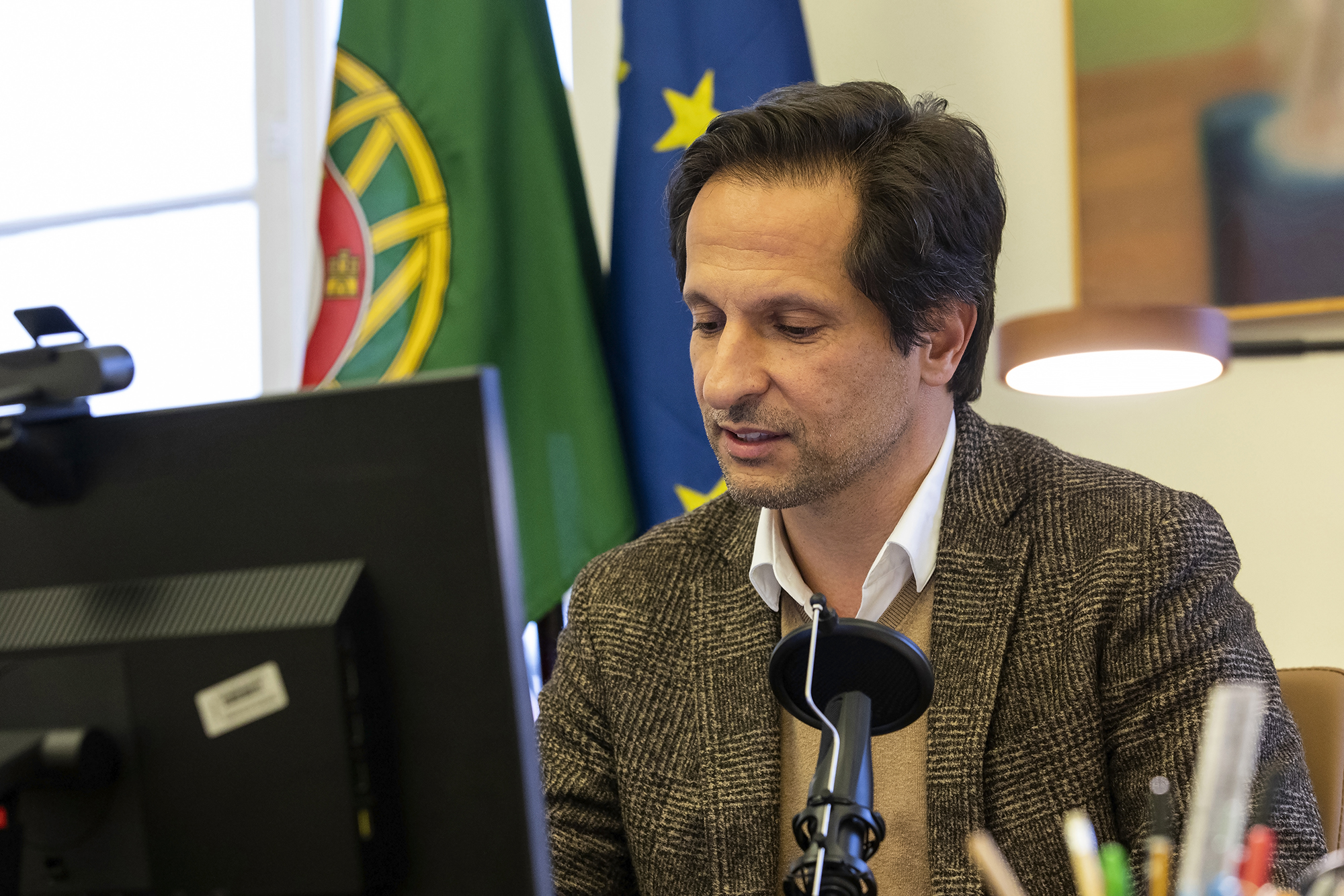 André Azevedo, Secretário de Estado da Transição Digital, em entrevista ao ECO - 11FEV21