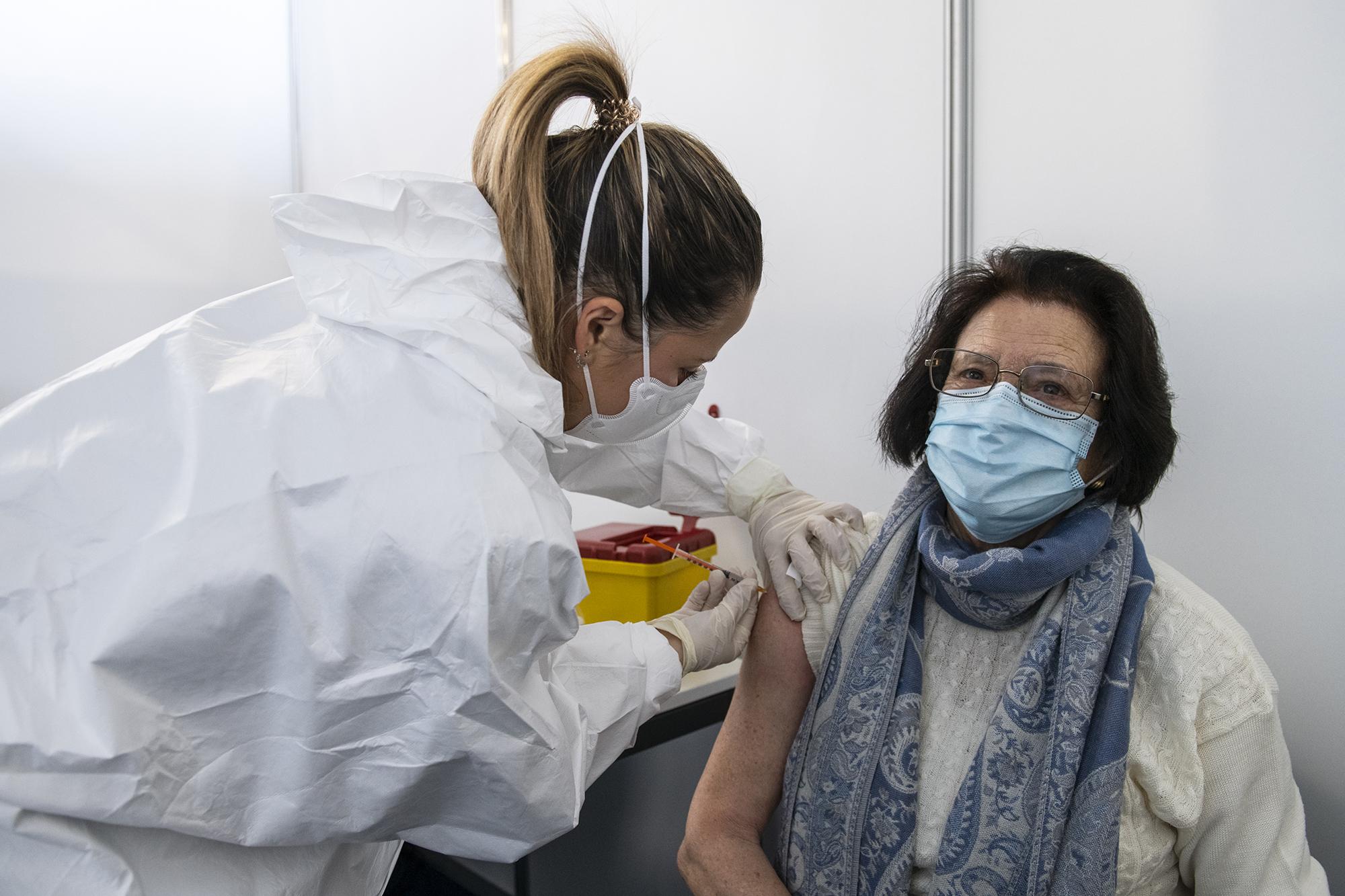 Centro de Vacinação de Oeiras - 15FEV21