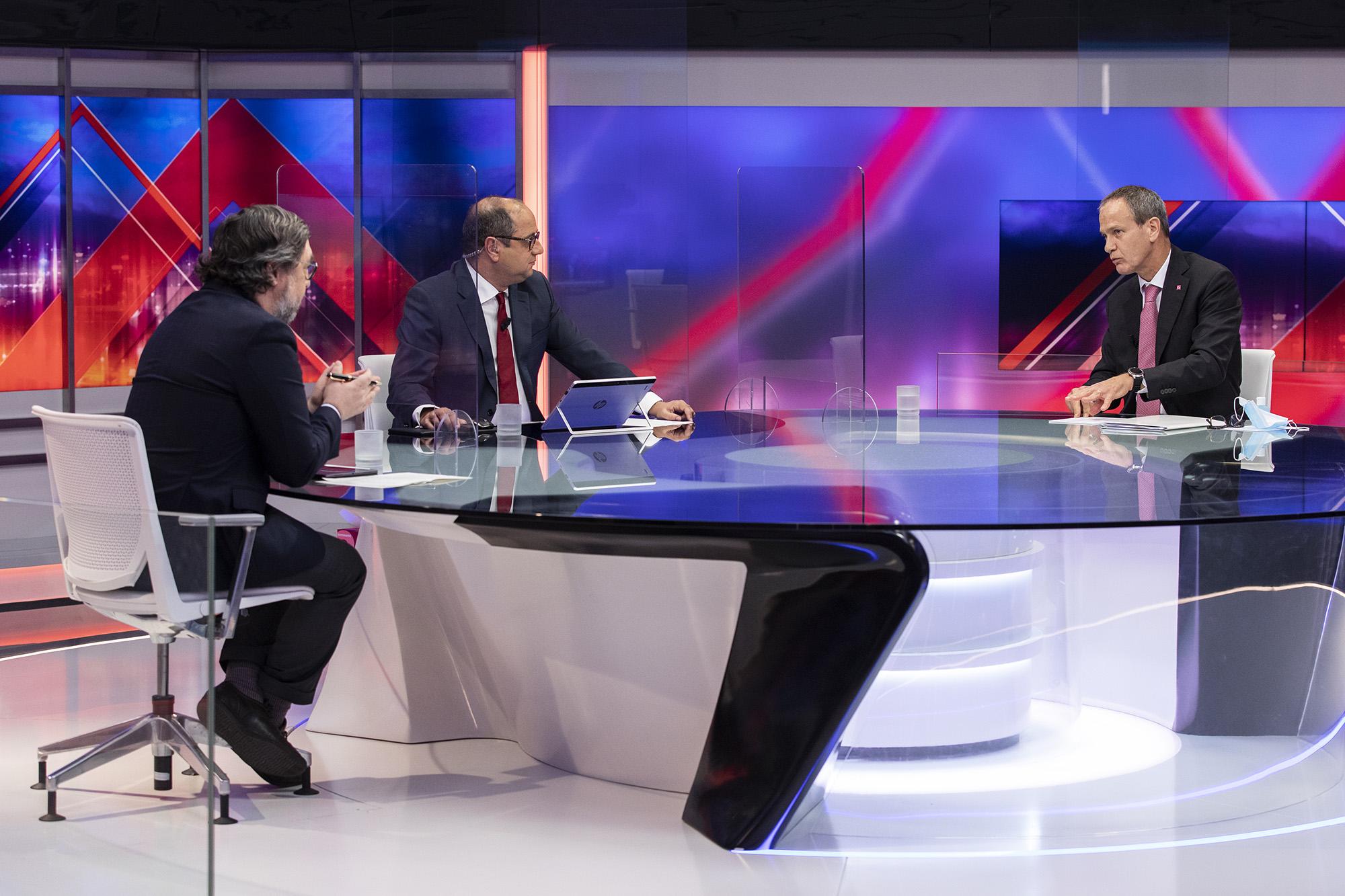 Miguel Maya, CEO do Millennium BCP, em entrevista ao ECO/TVI24 - 03MAR21