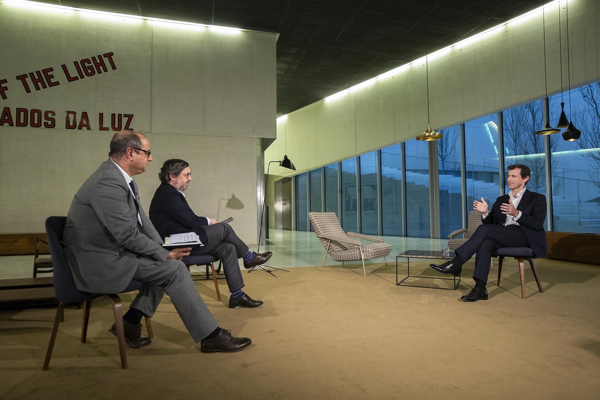 Miguel Stilwell d'Andrade, CEO da EDP, em entrevista ao ECO/TVI24 - 02MAR21