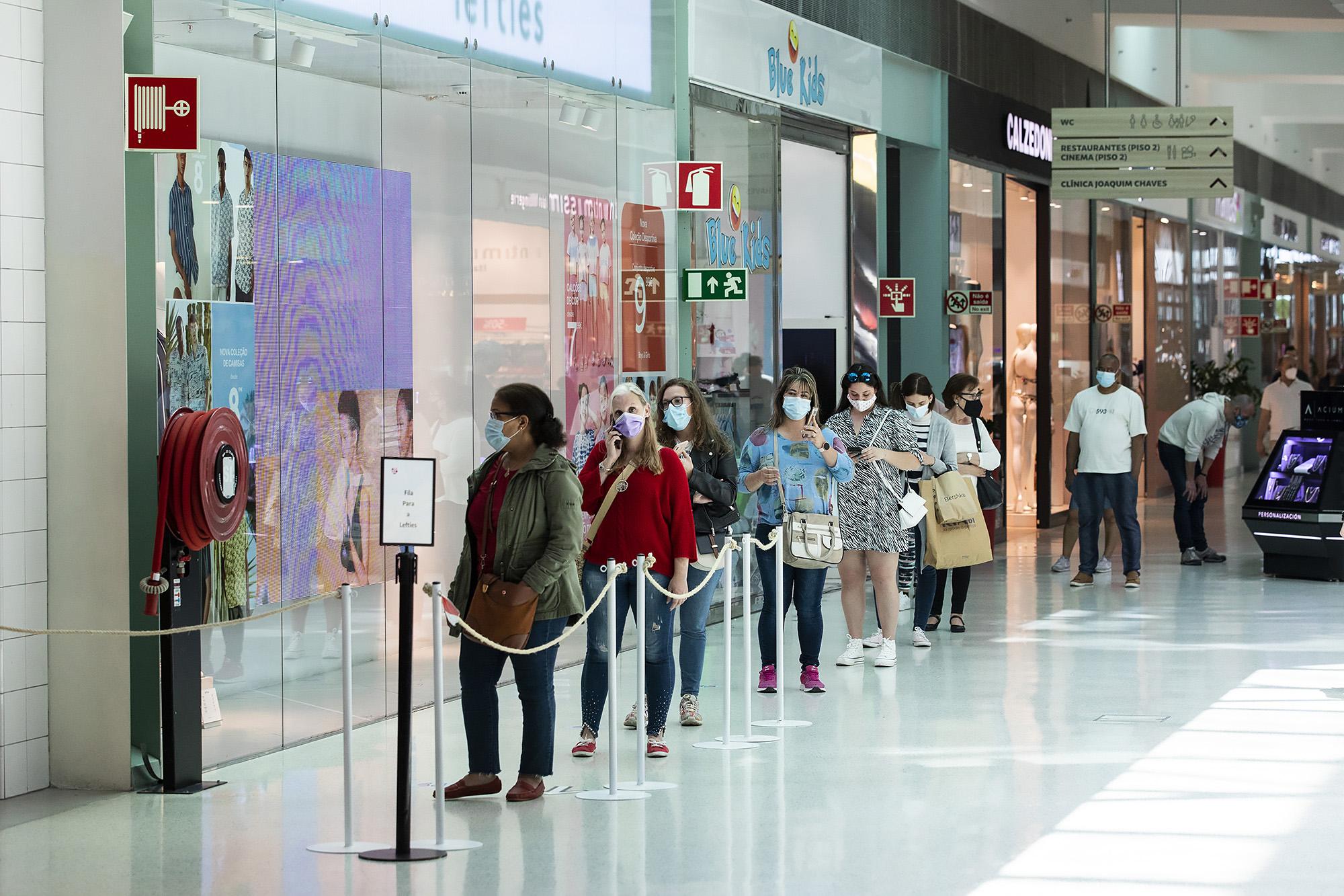 Alegro Sintra volta a abrir ao público após segundo confinamento - 19ABR21