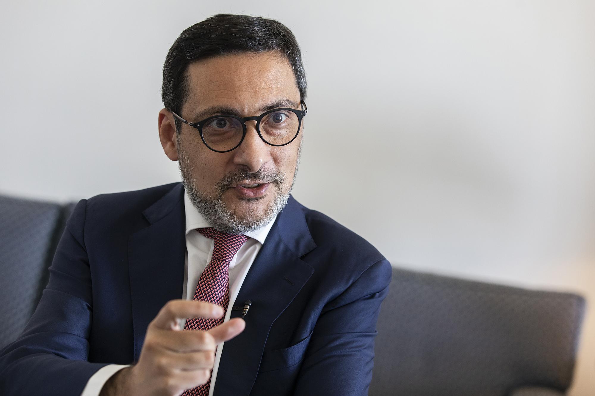 António Mendonça Mendes, Secretário de Estado dos Assuntos Fiscais, em entrevista ao ECO - 07ABR21