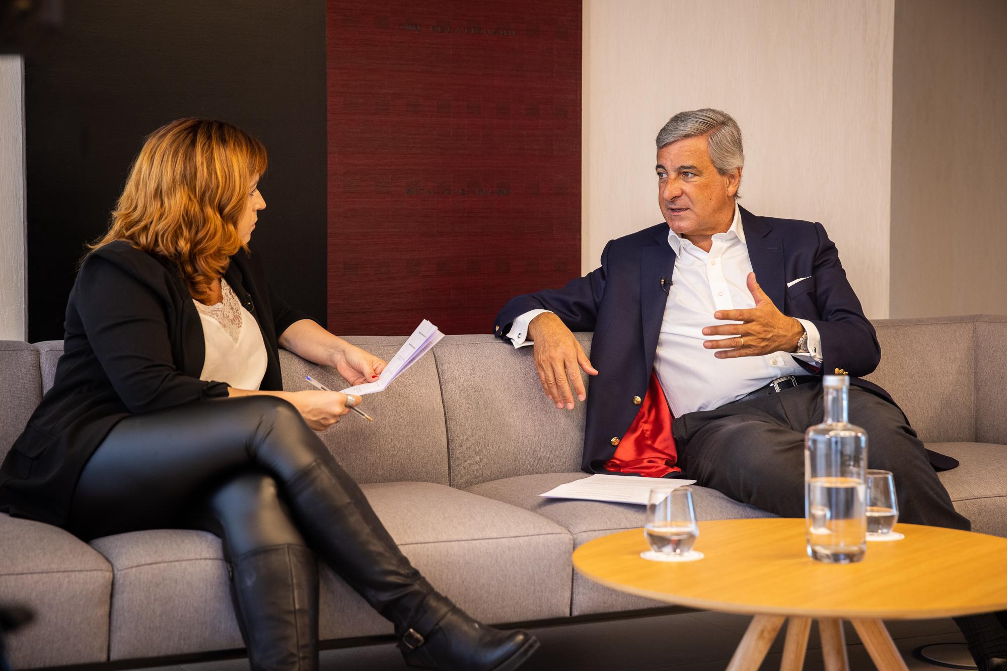 José Luís Arnaut, managing partner da CMS Rui Pena & Arnaut, em entrevista ao ECO/Advocatus - 19MAI21