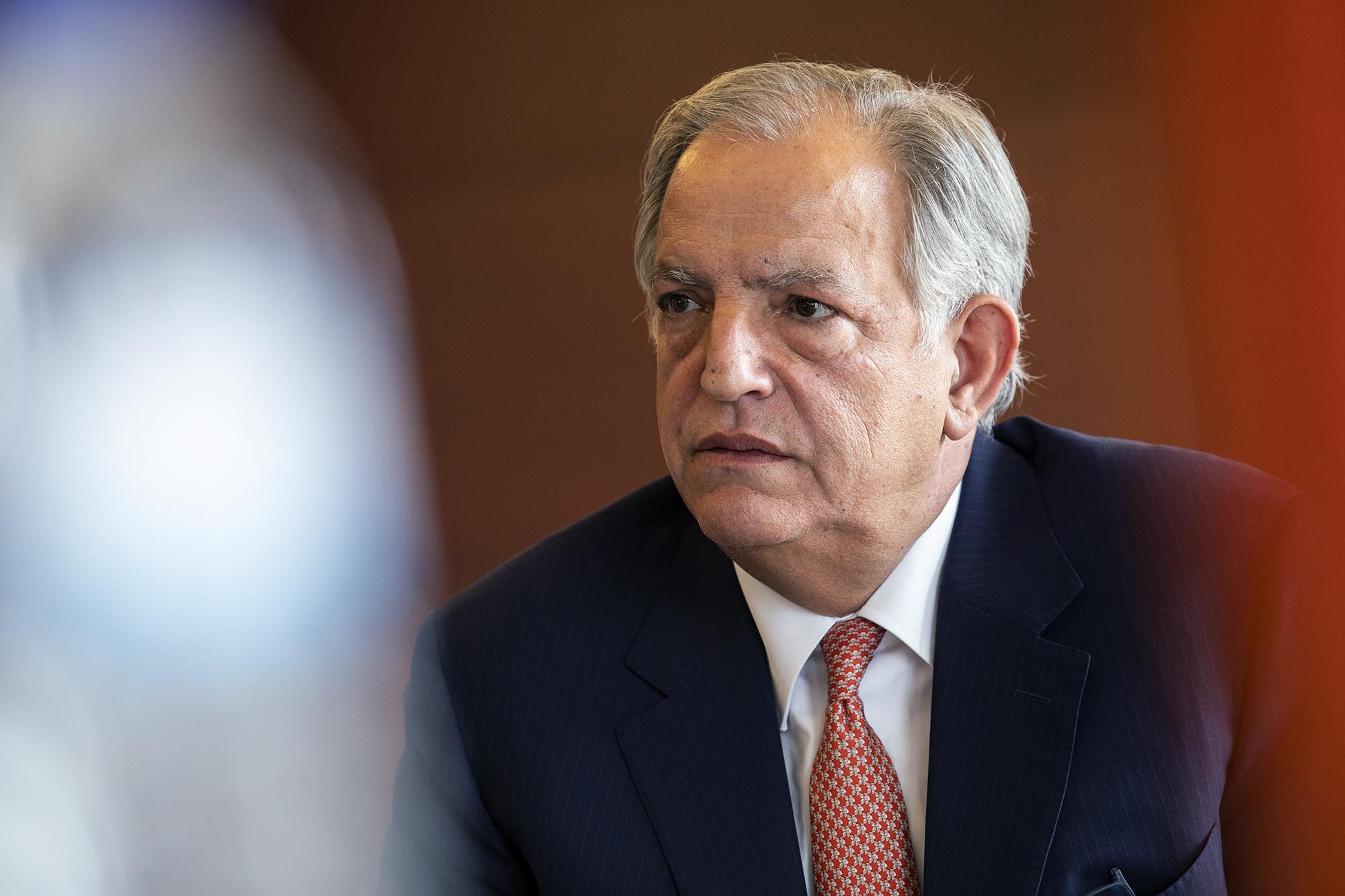 Virgílio Lima, presidente da Associação Mutualista Montepio, em entrevista ao ECO - 13MAI21