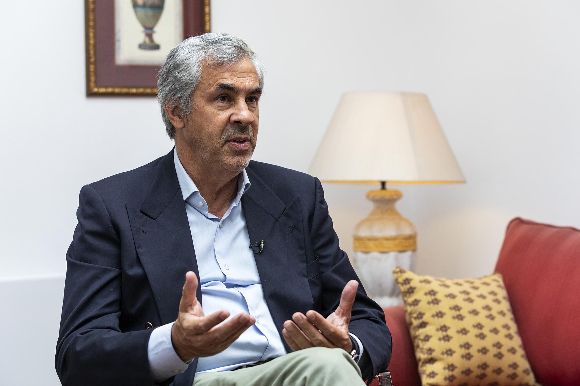 Hélder Pedro, presidente da ACAP, em entrevista ao ECO - 29JULÇ21