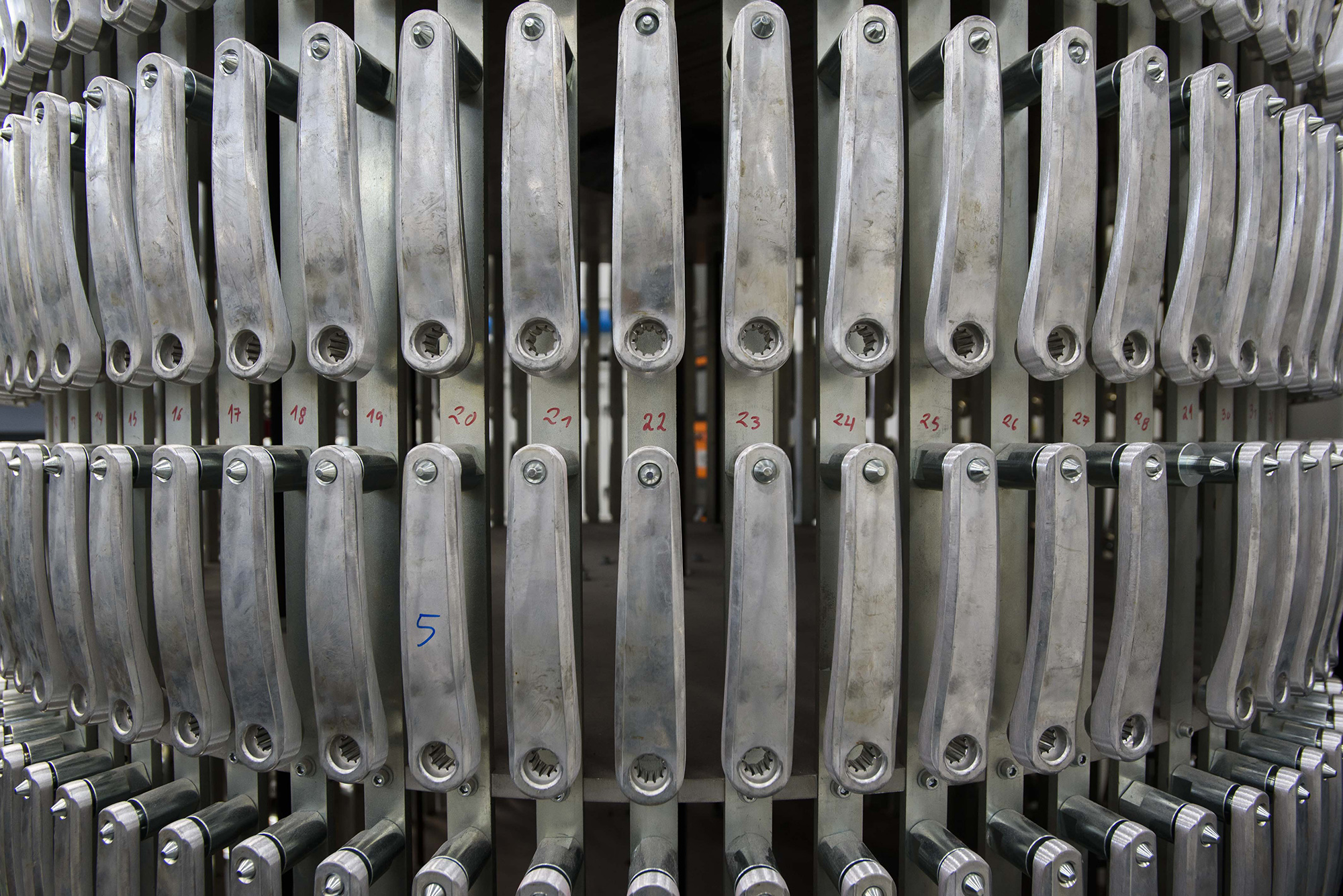 Reportagem na fábrica de bicicletas Miranda Bike - 26JUL21