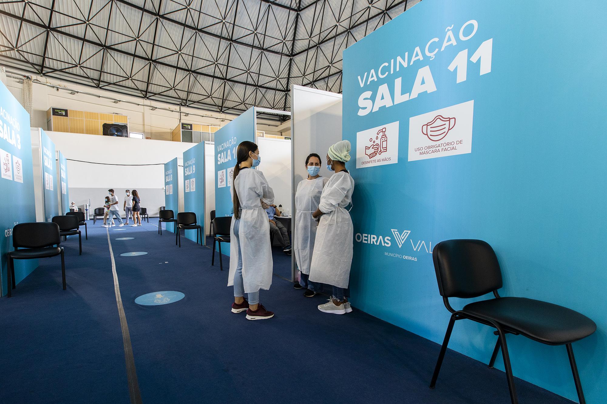 Centro de Vacinação de Oeiras - 09SET21