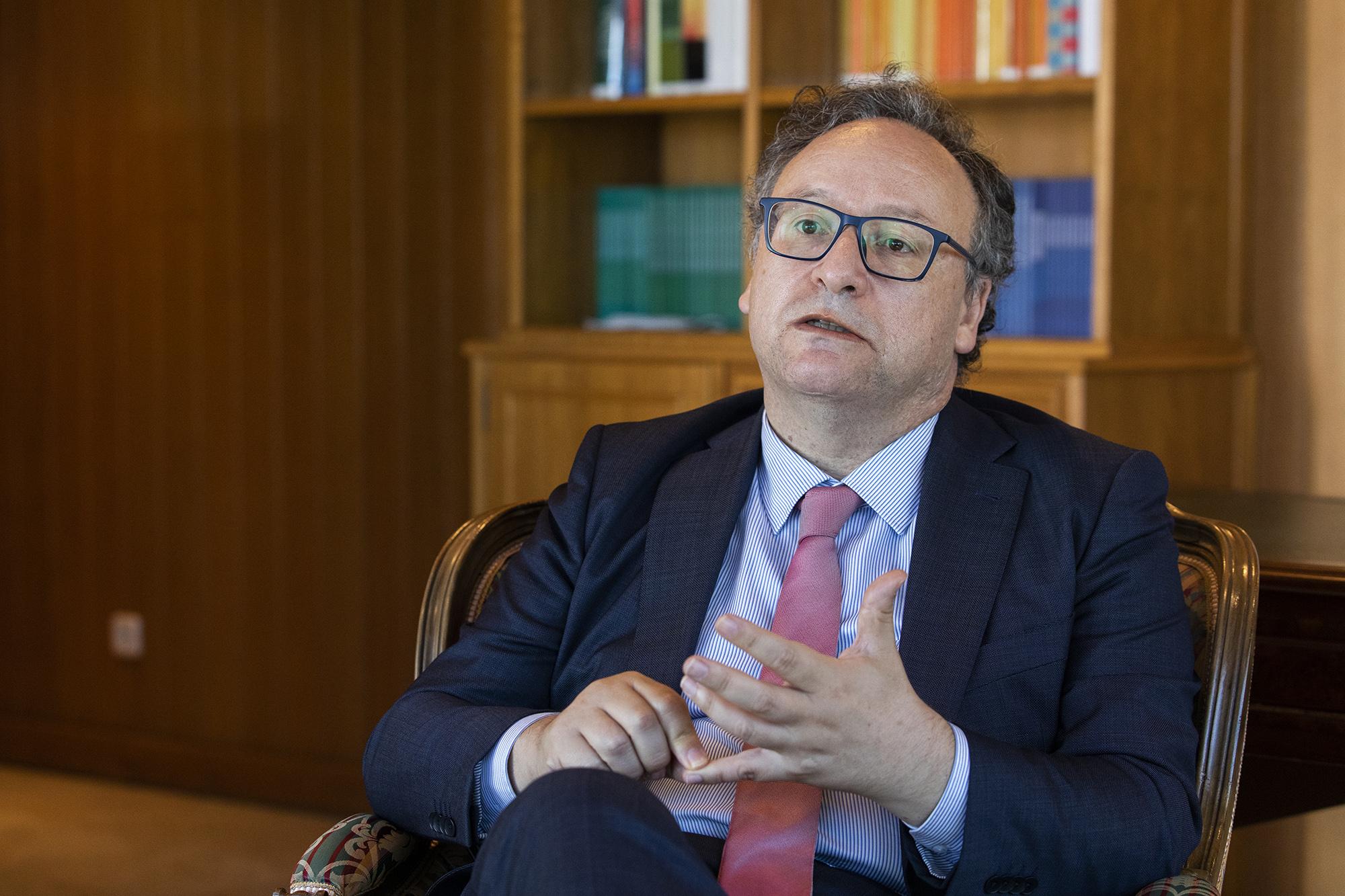 Francisco Assis, presidente do Conselho Económico e Social, em entrevista ao ECO - 29SET21