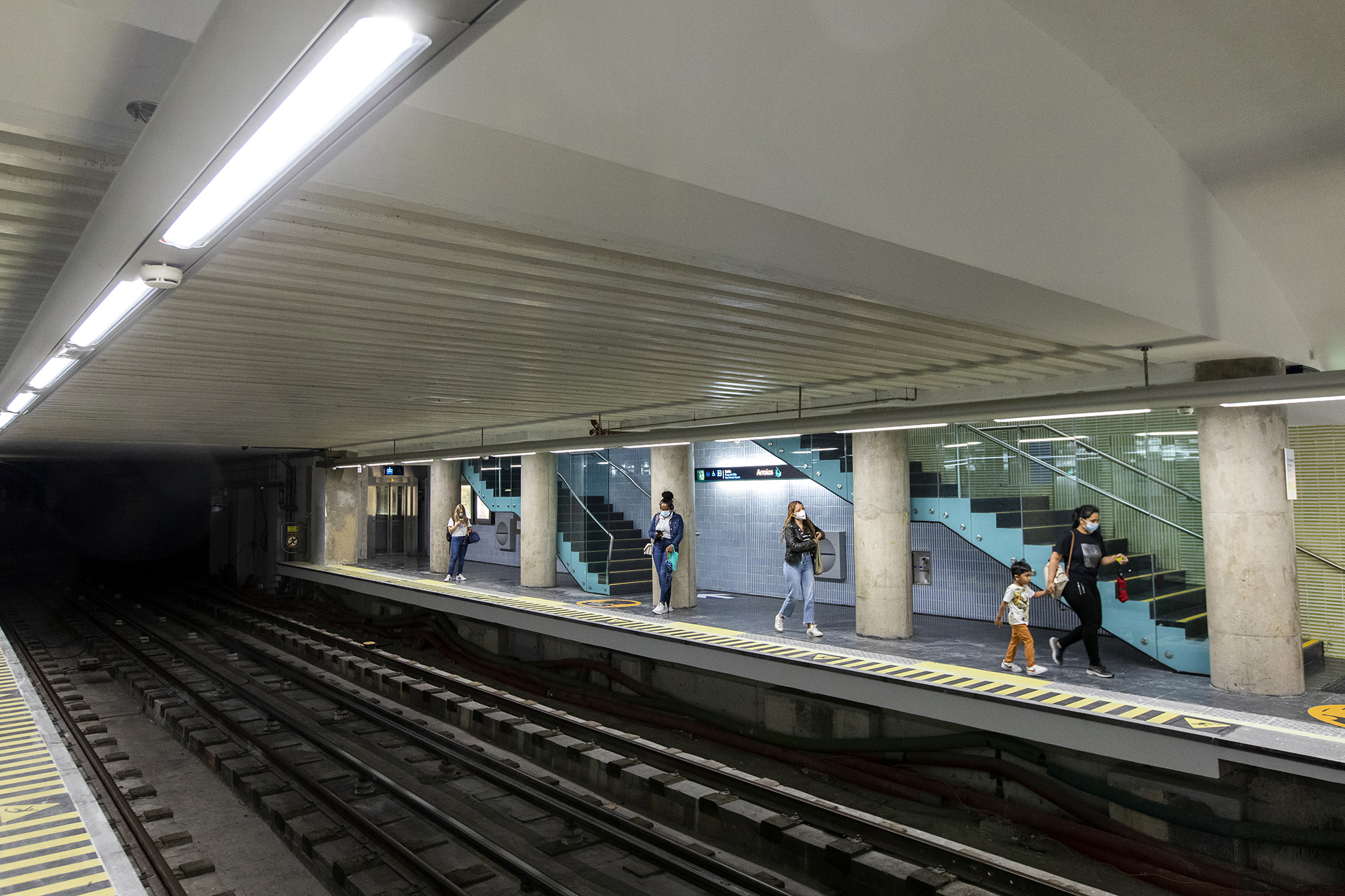 Reabertura da estação de metro de Arroios - 14SET21